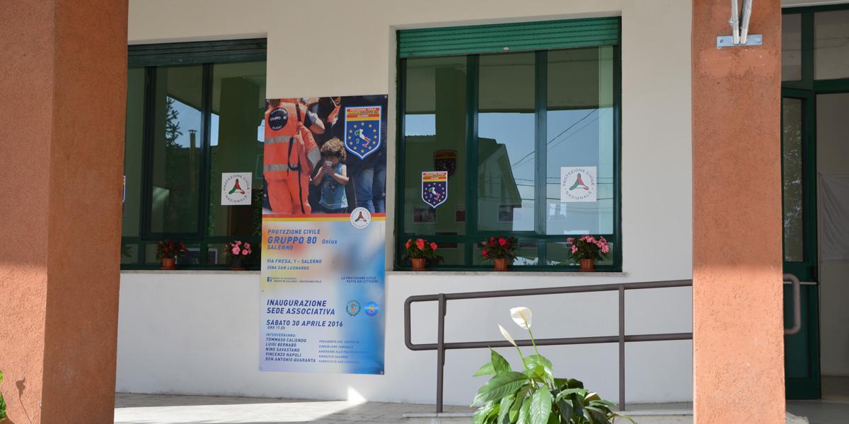 Nuova sede per Gruppo 80 Salerno